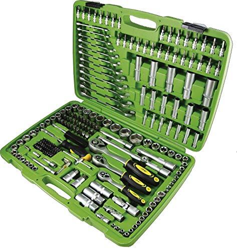 JBM 50895 Piezas con Vasos hexagonales en Estuche Verde