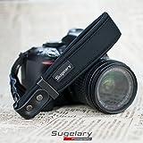 Sugelary Kamera Handschlaufe Neopren Kamera Handgelenkschlaufe Trageschlaufe für Canon Nikon Sony Fujifilm Olympus DSLR SLR (ST-1) Test