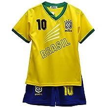 Niños – Conjunto – Camiseta & Pantalones Cortos de fútbol ...