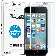 [2 Pièces] iPhone 6s PLUS Film Protection En Verre Trempé Compatible 3D Touche OMOTON Ecran Protecteur Ultra Résistant