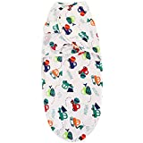 Swaddle Blanket, Adjustable Infant Baby Wrap By House Of Quirk Soft Cotton - Car