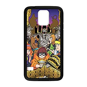 Scooby Doo Dead Behind Pattern Image Case Cover Hard Plastic Case for Samsung Galaxy S5 i9600 Regular