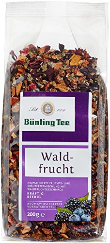 Bünting Tee Waldfrucht 200 g lose, 6er Pack (6 x 200 g)