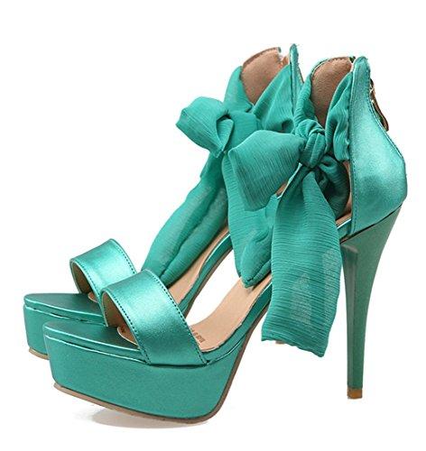 YE , Bride cheville femme Vert