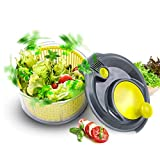 "Royalford Mini Salad Spinner (16.5cm, 6.5"")   Healthy Eating Large Salad Spinner"