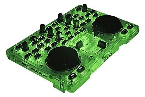 Hercules DJ Control Glow (2-Deck DJ Controller, LED-Leuchteffekt, DJUCED 18°, PC / Mac)