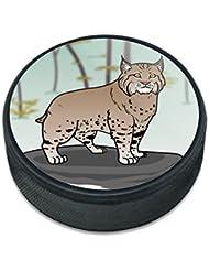 Bobcat Lynx Cat palet de hockey sur glace