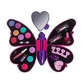 Kit de Maquillage Jouer Prétend Princess Fille Palette de maquillage enfant Sécurité Non Toxique Idéal Cadeau pour Noël Anniversaire
