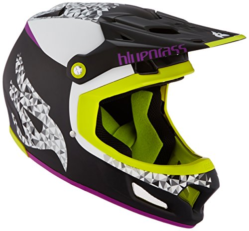 Bluegrass Brave Helm, Black/Purple/Green, 58-60 cm