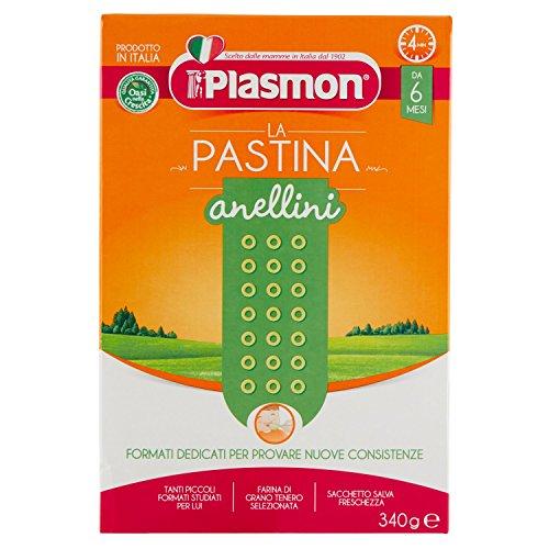 Plasmon Alimento per lInfanzia Anellini 340 gr