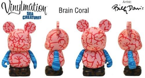 Vinylmation Disney Parks Gehirn Coral Sea Creatures 7,6 cm