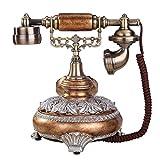 GIOW Antike europäische Art-Weinlese reparierte altes Telefon (Anrufer Identifikation) Größe: 22x25x26cm A + (Farbe: E)