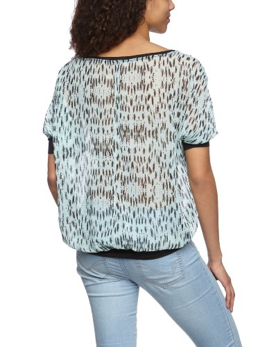 QS By S.Oliver - Blouse - Manches 1/2 - Femme Vert (60A0)