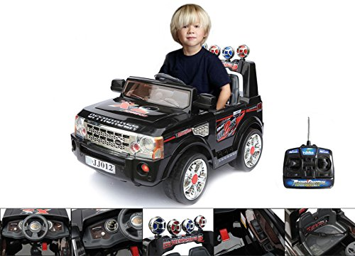 12V-electric-toy-car-with-parental-remote-control--electric-black-4x4-for-children