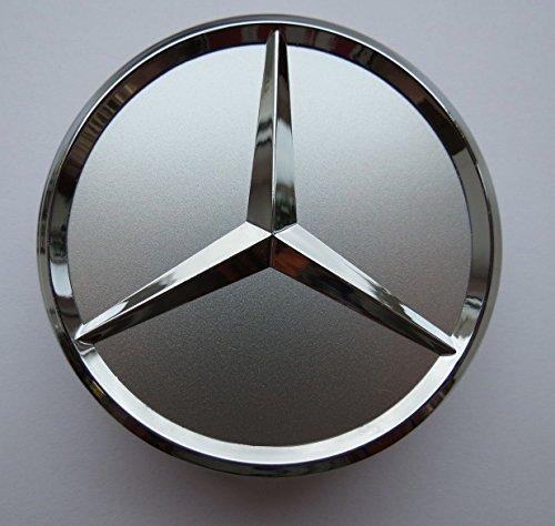 4 x 75 mm centre de roue Mercedes-Benz chromé cache moyeu Envoi depuis la France
