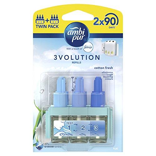 Pure Perfume Refill (Ambi Pur 3Volution Plug-in Lufterfrischer Refill 20ml (2Stück))