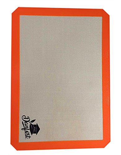 Silikon Backform, Aluminiumguss Matte, spezielle in die Konditorei, Blatt für Cookies, Tablett rechteck, Küche Zubehör (Silpat Backen Pfanne)