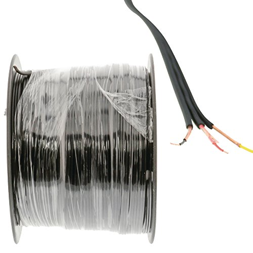 Eurosell Highend Lautsprecher Kabel 100m 100 Meter Rolle 3 polig 3x 0.14 mm² Grundpreis 0,69 €/m