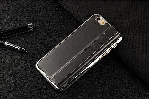 Ronney cigare de Bumper Coque rigide pour iPhone 5/5S, iPhone 6& Samsung S5, noir, iPhone 6 gris