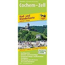 Cochem - Zell: Rad- und Wanderkarte mit Ausflugszielen, Einkehr- & Freizeittipps und Stadtplänen, wetterfest, reissfest, abwischbar, GPS-genau. 1:25000 (Rad- und Wanderkarte/RuWK)