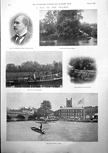 Thames J Wilkinson Pangbourne John Porter M K Cannon, used for sale  Delivered anywhere in UK