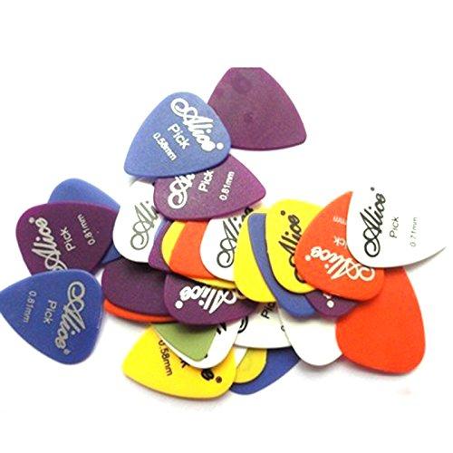 Teile Grid (Beautyrain 24X Gitarre Paddle Edelstahl Daumen Finger Gitarre Paddles Picks Opener Fall Kasten Grid)