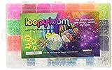 Le coffret Loopy Loom de luxe comprend un kit de 4200 élastiques en caoutchouc