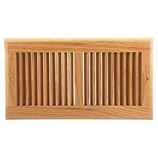 Accord AORGOLL126 Oak Return Grille, 12-Inch x 6-Inch(Duct Opening Measurements), Light Finish