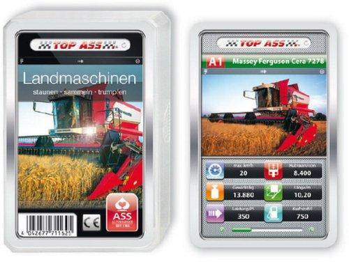 ASS Altenburger Spielkarten 22571162 - ASS Altenburger - Sortiment TOP ASS Landmaschinen