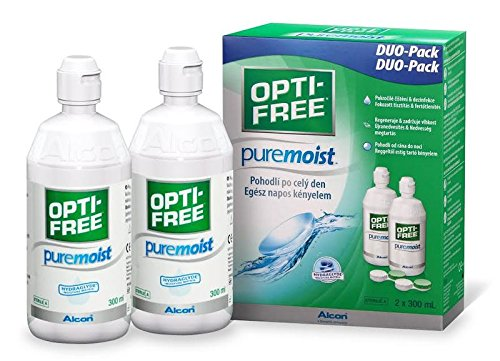 Alcon Opti- Free PureMoist Vorratspackung 2 x 300 ml, 1er Pack (1 x 600 (Online Kontaktlinse)