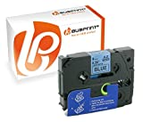 Bubprint Schriftband kompatibel für Brother TZE-521 TZE521 für P-Touch 1280 2430PC 2730VP 3600 9500PC 9700PC D400VP D600VP H100LB H105 P700 P750W 9MM