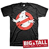 Ghostbusters Distressed Logo T-Shirt schwarz 134/140