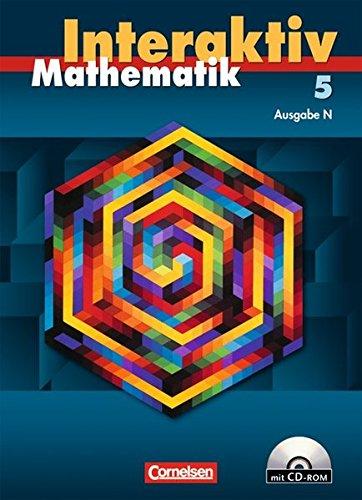 Mathematik interaktiv 5. Schuljahr. Schülerbuch mit CD-ROM. Ausgabe N