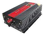 Chaomin convertisseur onde sinusoïdale modifiée Power Inverter DC 12V vers AC 220V 2000W Pointe 4000W pour Home Tableau de CPU contrôlé Voiture Digital LCD écran