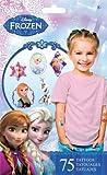Disney Frozen (Eiskönigin) - 8 Bogen Haut Tattoos - insgesamt 75 Motive