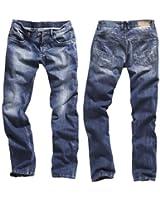 Timezone Herren Jeans 'Coast 26-5331-3511' Regular Fit ocean blue