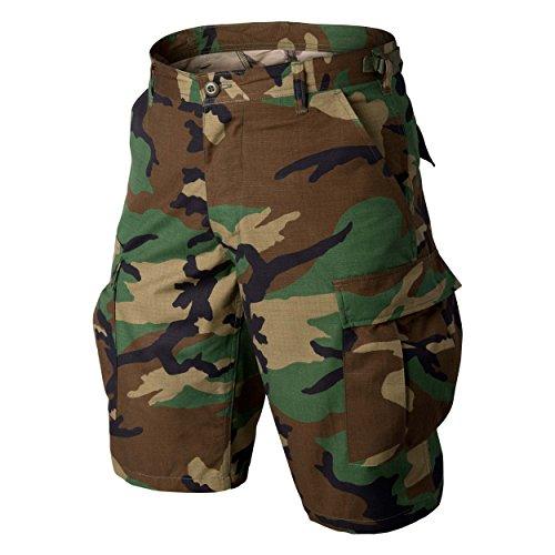 Helikon-Tex BDU Shorts -Cotton Ripstop- US Woodland - Us Woodland Bdu