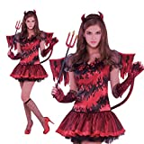 Amscan International Hot Stuff-Costume da diavolo, Donna