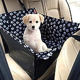 YAWJ Hund Autositz Einzigen Für Zurück Wasserdichte Abdeckung Heimtierbedarf Booster Mit Sicherheitsleine Hinten Protector Hammock Carrier