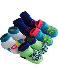 Coffret cadeau bébé - 4 paires de chaussettes BARCA - Collection officielle FC BARCELONE - Taille bébé garçon