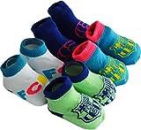 Coffret cadeau bébé - 4 paires de chaussettes BARCA - Collection officielle FC BARCELONE - Taille bébé garçon 0/6 mois