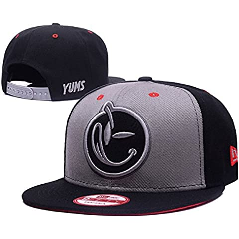 YUMS Classic Comfort Snapback Hat Adjustable Fashion Cap One Size