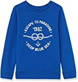 RED WAGON Boy's Deep Blue Sea Sweatshirt, Blue (Blue 19-4055 TCX), 116 (Manufacturer Size: 6)