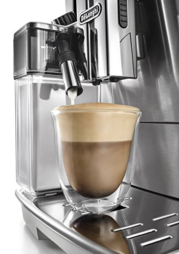51Us5Ff5HBL - De'Longhi Primadonna S Evo, Fully Automatic Bean to Cup Coffee Machine, Espresso and Cappuccino Maker,Stainless Steel…