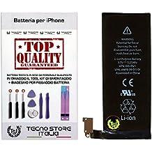 TSI® Batería compatible con iPhone 4, Capacidad 1420 mAh APN 616 - 0520/616 - 0521, + Tool Kit Desmontaje, doble cara y instrucciones