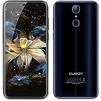 CUBOT X18 -Pantalla HD de 5.7 Pulgadas (Relación de Aspecto 18: 9) Ultra-Slim Android 7.0 /4G Smartphone, 13MP + 16MP Cámara dual, Quad Core 3GB RAM +32GB ROM, 3200mAh - Azul oscuro