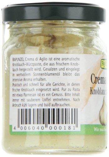 Rapunzel Crema di Aglio, Knoblauch-Würzpaste, 1er Pack (1 x 120 g) – Bio - 2