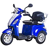 Lunex 3 Wheeled Electric Mobility Scooter Tricycle Recreational 500W 8 mph/16 mph