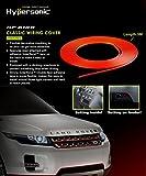 Hypersonic® HP6188 Flexible Dekorative Stylingleiste Zierleiste Deko-Band fürs Auto, selbstklebend, Macht Ihr Fahrzeug attraktiv, ROT, 5 Meter
