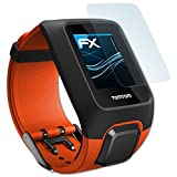 atFoliX Schutzfolie kompatibel mit Tomtom Adventurer Folie, ultraklare FX Bildschirmschutzfolie (3X)